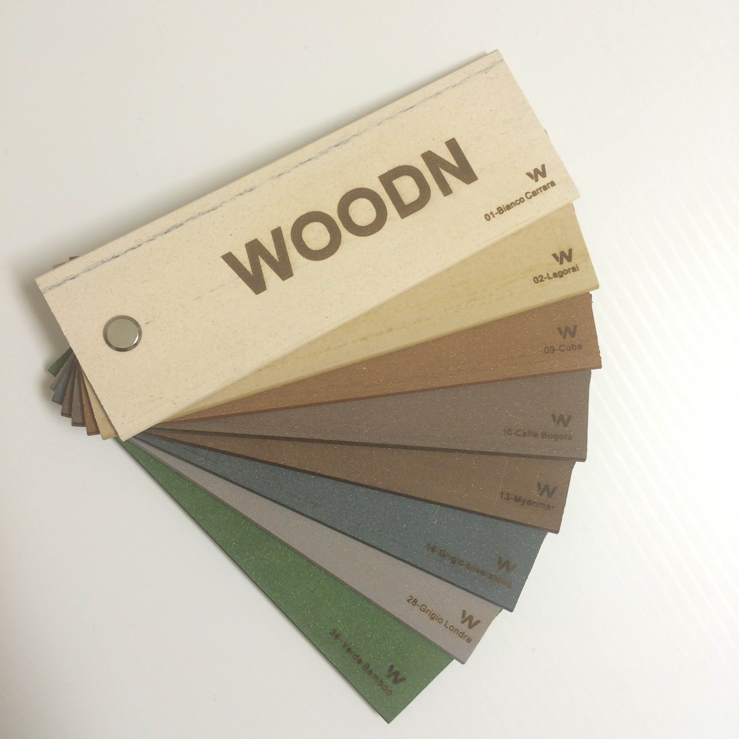 WoodN Outdoor color palette